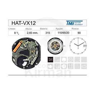 MOVIMIENTO HATTORY VX12