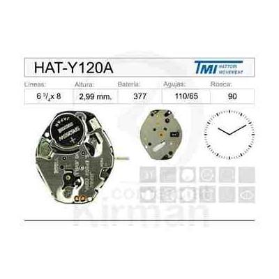 MOVIMIENTO HATTORY Y120A