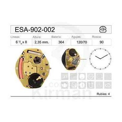 MOVIMIENTO ESA 902-002