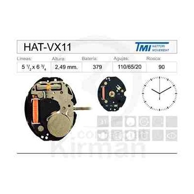 MOVIMIENTO HATTORY VX11