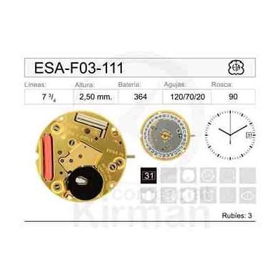 MOVIMIENTO ESA F03-111