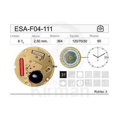 MOVIMIENTO ESA F04-111