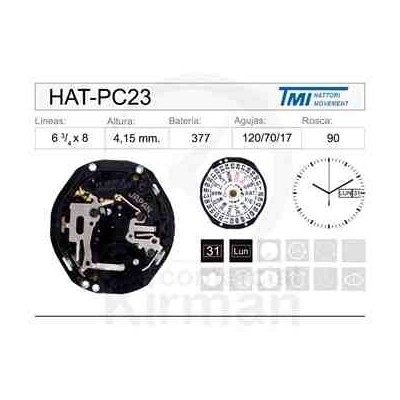 MOVIMIENTO HATTORY PC23