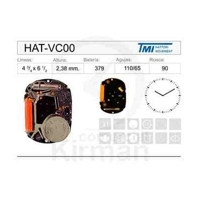 MOVIMIENTO HATTORY VC00