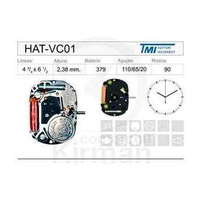MOVIMIENTO HATTORY VC01
