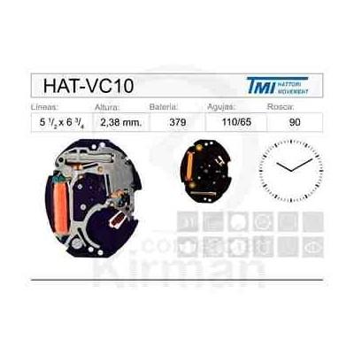 MOVIMIENTO HATTORY VC10