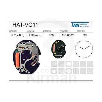 MOVIMIENTO HATTORY VC11
