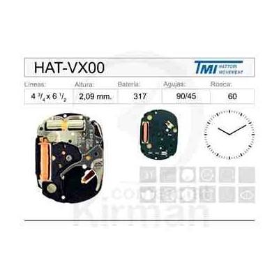 MOVIMIENTO HATTORY VX00