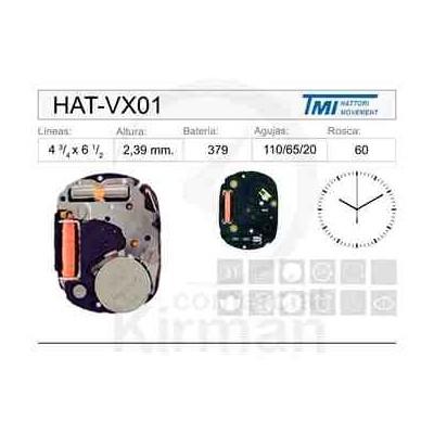 MOVIMIENTO HATTORY VX01
