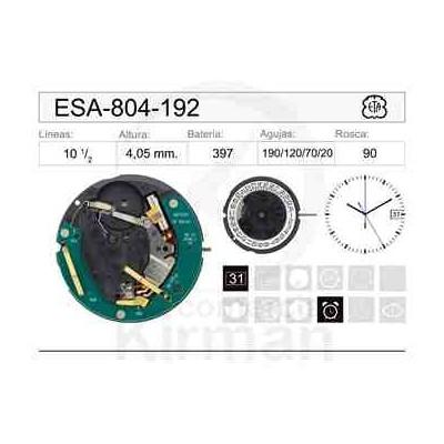 MOVIMIENTO ESA 804-192