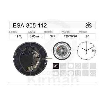 MOVIMIENTO ESA 805-112