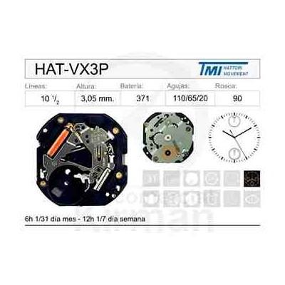 MOVIMIENTO HATTORY VX3P