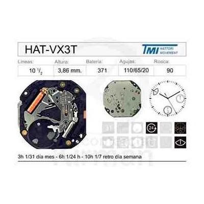 MOVIMIENTO HATTORY VX3T