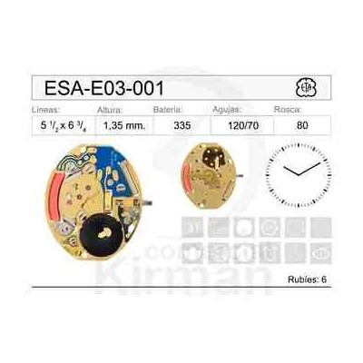 MOVIMIENTO ESA E03-001