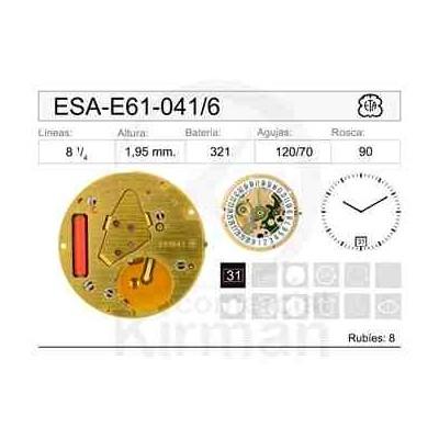 MOVIMIENTO ESA E61-041 CAL.3H