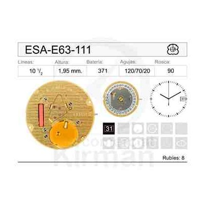 MOVIMIENTO ESA E63-111