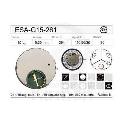 MOVIMIENTO ESA G15-261