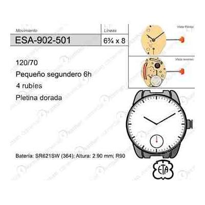 MOVIMIENTO ESA 902-501