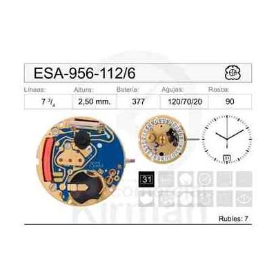 MOVIMIENTO ESA 956-112 CAL 6H
