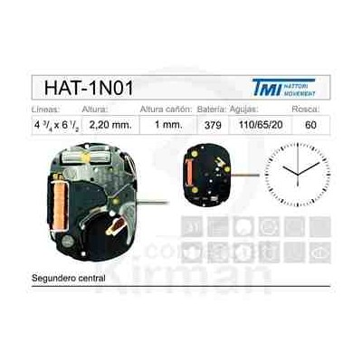 MOVIMIENTO HATTORY 1N01