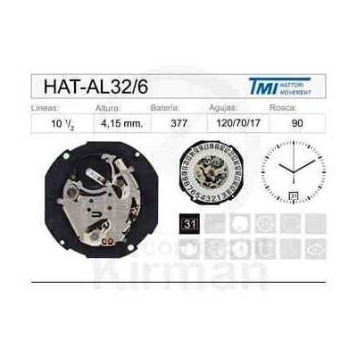 MOVIMIENTO HATTORY AL32 CAL.6H