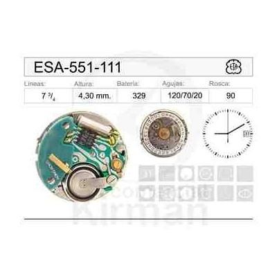 MOVIMIENTO ESA 551-111