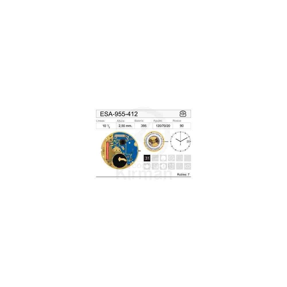 MOVIMIENTO ESA-955-412