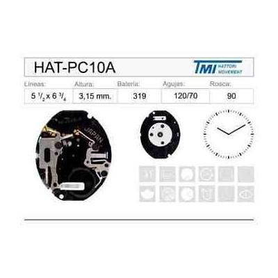 MOVIMIENTO HATTORI PC10A