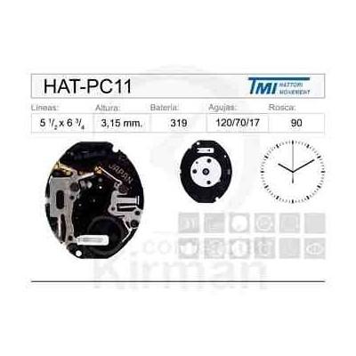 MOVIMIENTO HATTORI PC11