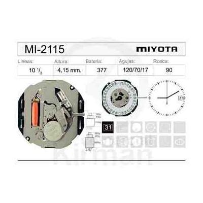 MOVIMIENTO MIYOTA 2115