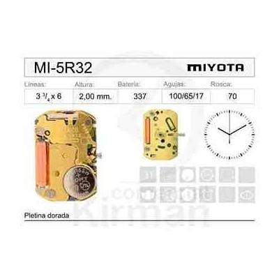 MOVIMIENTO MIYOTA 5R32