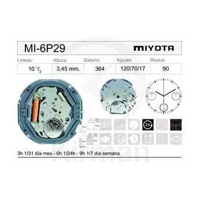 MOVIMIENTO MIYOTA 6P29