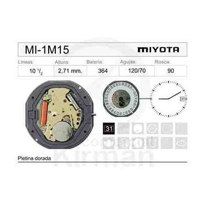 MOVIMIENTO MIYOTA 1M15