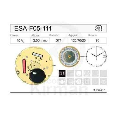MOVIMIENTO ESA F05-111