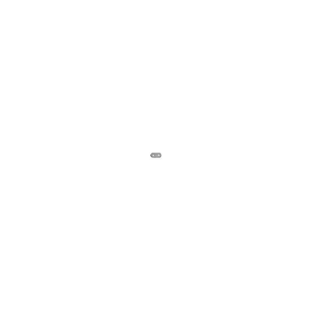 Separador plano 2 vueltas.Long.9mm.AG-925 46010