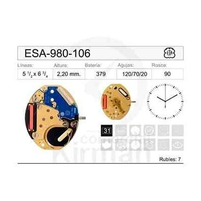 MOVIMIENTO ESA-980-106