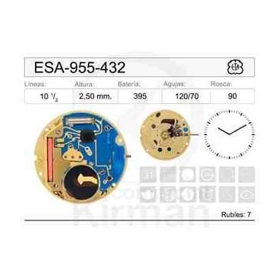 MOVIMIENTO ESA 955-432