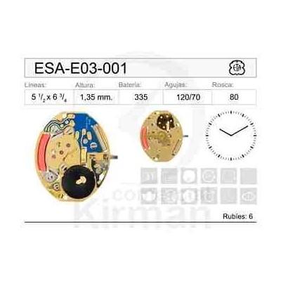 MOVIMIENTO ESA E03001