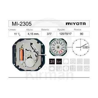 MOVIMIENTO MIYOTA 2305