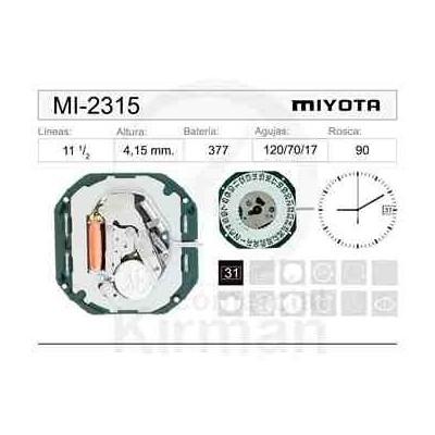 MOVIMIENTO MIYOTA 2315