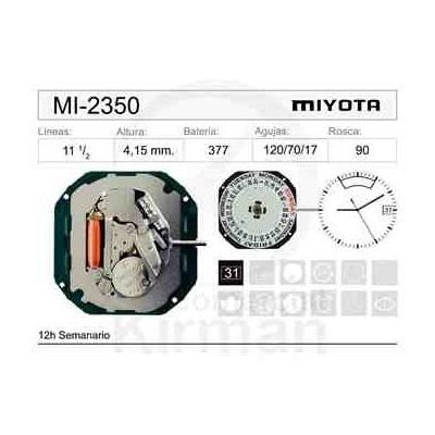 MOVIMIENTO MIYOTA 2350