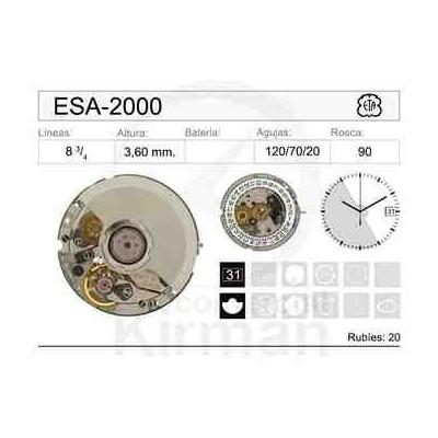 MOVIMIENTO ESA-2000