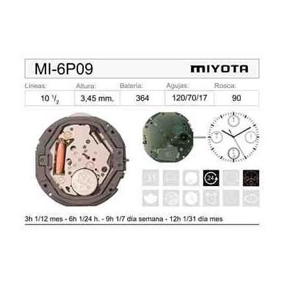 MOVIMIENTO MIYOTA 6P09