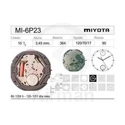 MOVIMIENTO MIYOTA 6P23
