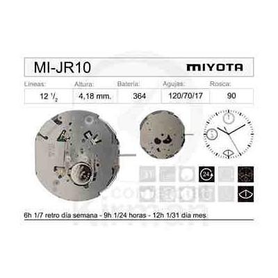 MOVIMIENTO MIYOTA JR10