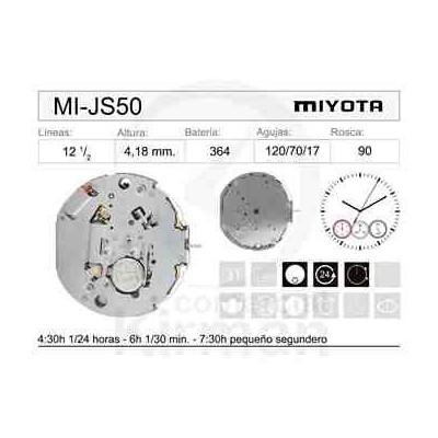 MOVIMIENTO MIYOTA JS50