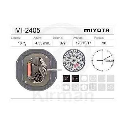 MOVIMIENTO MIYOTA 2405
