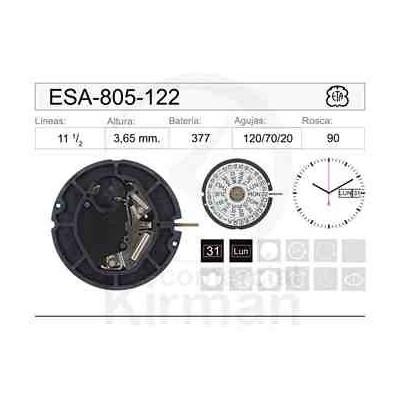 MOVIMIENTO ESA 805-122