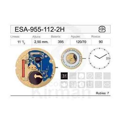MOVIMIENTO ESA 955-112-2 AGUJAS