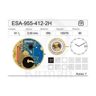 MOVIMIENTO ESA 955-412-2 AGUJAS